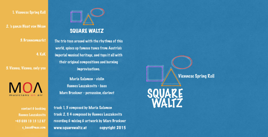 CD Kartontasche Square Waltz 2015